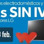 Días sin IVA Worten electrodomésticos TV LG