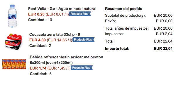 Compra Supermercado Amazon