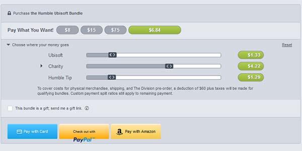 Pagar Humble Ubisoft Bundle
