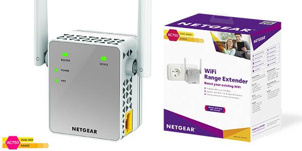 Extensor repetidor WiFi Netgear EX3700-100PES