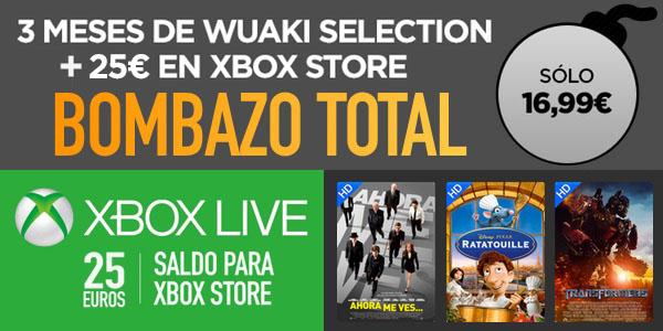 Oferta Wuaki.TV Xbox Live
