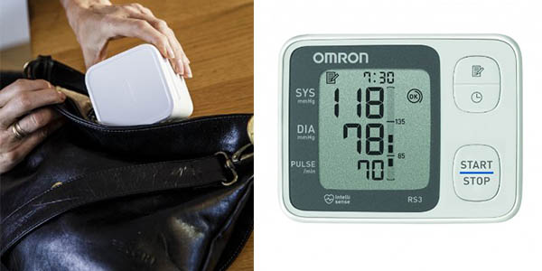 Omron RS3 monitor tensión arterial