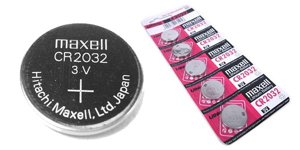 Chollo 5 pilas de bot n litio cr2032 maxell por s lo 1 95 - Tipos de pilas de boton ...