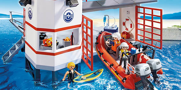 faro guardacostas playmobil