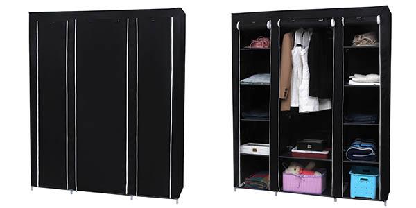 Artesanato Reciclavel Com Caixa De Leite ~ Oferta armario ropero de tela Songmics tamaño XXL