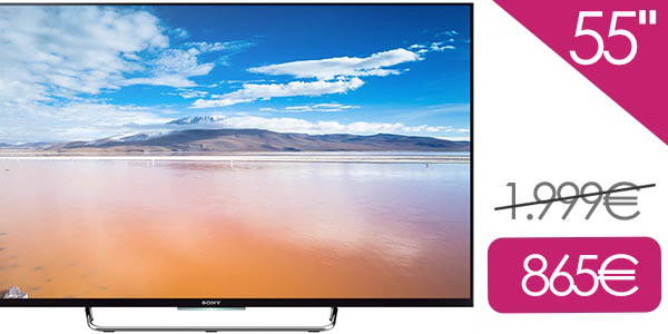 TV Sony KDL-55E808C