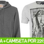 Chollo pack sudadera + camiseta