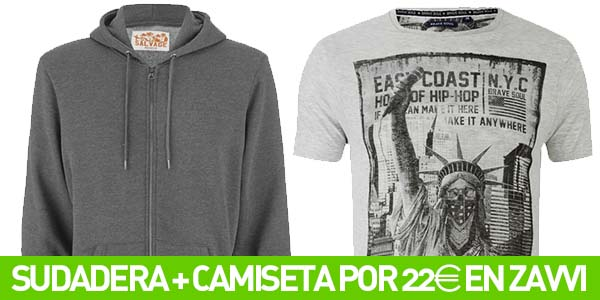 Chollo pack sudadera + camiseta
