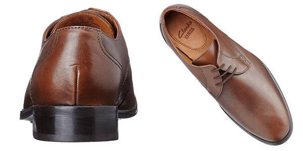 Zapatos Clarks Kolby Walk en color marrón