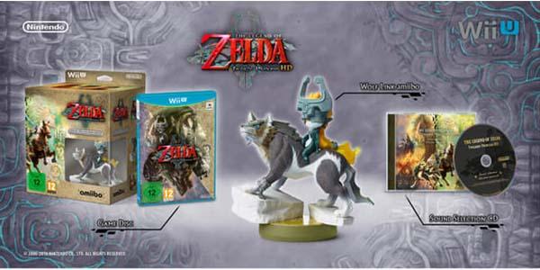 Extras Edición Limitada Zelda: Twilight Princess HD