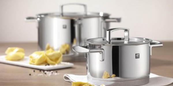 Bater a de cocina zwilling passion 5 piezas por s lo 103 for Iber baterias de cocina