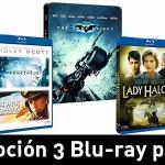 3 Blu-ray por 30 euros en Amazon