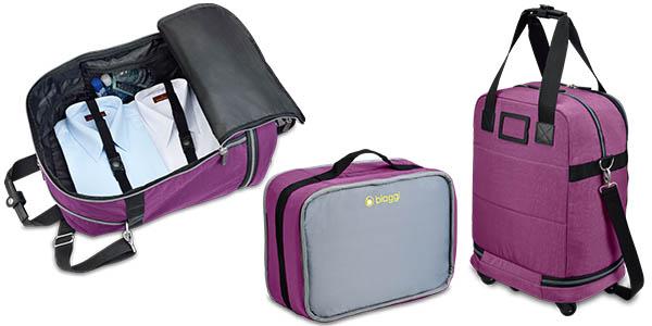biaggi zipsak maleta para llevar en cabina de avion