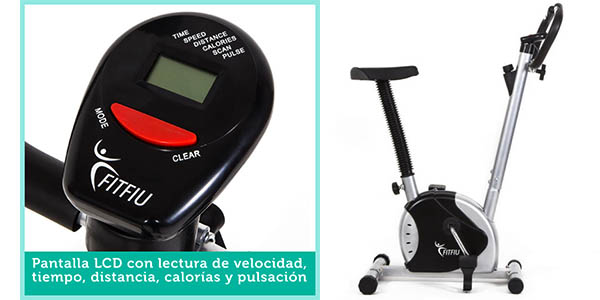 bicicleta con practico panel lcd