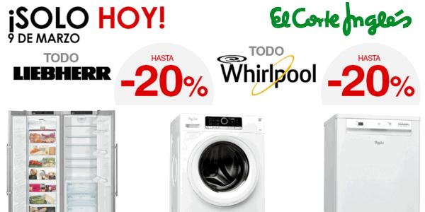 39deb8677019 Sólo hoy! Ofertas en electrodomésticos de grandes marcas en El Corte ...