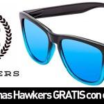 Gafas de sol gratis con cada pedido Hawkers