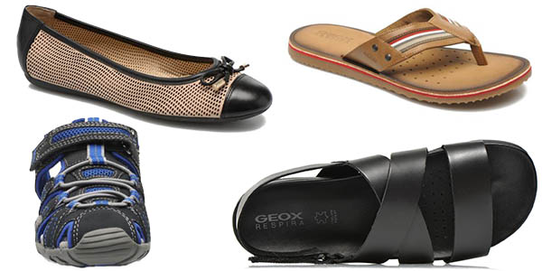 geox descuentos brutales en zapatos primavera verano