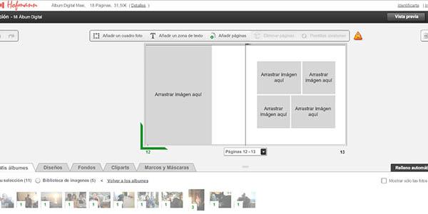 hofmann como crear album fotos digital