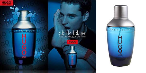 hugo dark blue frasco 75 ml barato