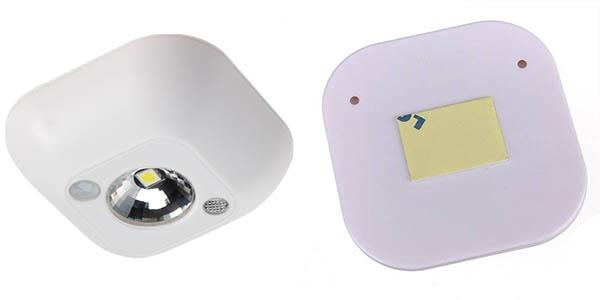 Chollo luz led con sensor de movimiento para espacios - Luz sensor movimiento ...