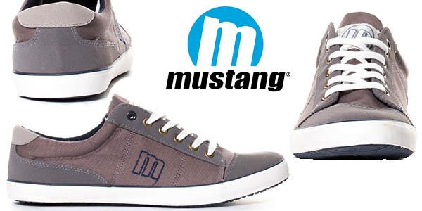 Chollazo zapatillas mustang tom en color gris - Zapatillas lona carrefour ...