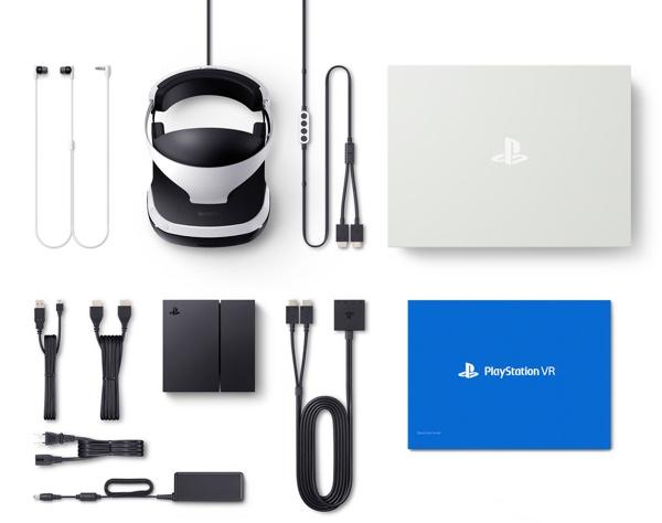 PlayStation VR en la caja