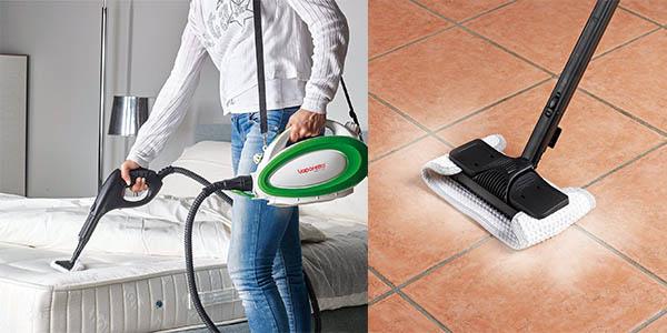 polti maquina de limpieza a vapor handy25 transportable