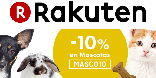 rakuten cupon descuento productos para mascotas marzo 2016