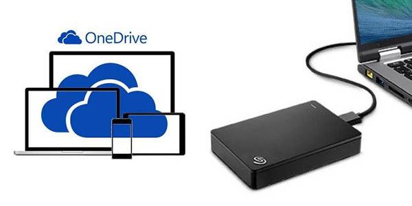 Disco duro Seagate + OneDrive 200 GB