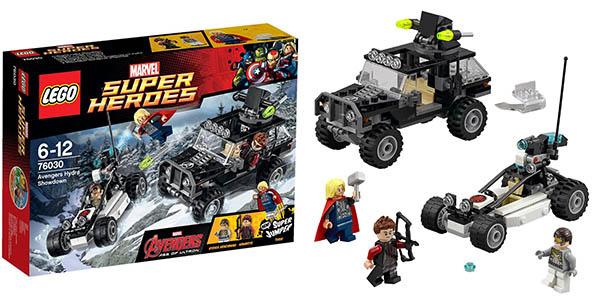 Set LEGO Súper Héroes: Los Vengadores vs Hydra