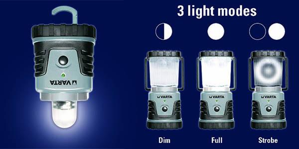 varta lampara portatil pequeña y ligera