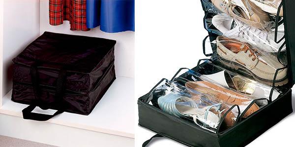 Funcional maleta para guardar y transportar zapatos por s lo 10 - Almacenaje zapatos ...