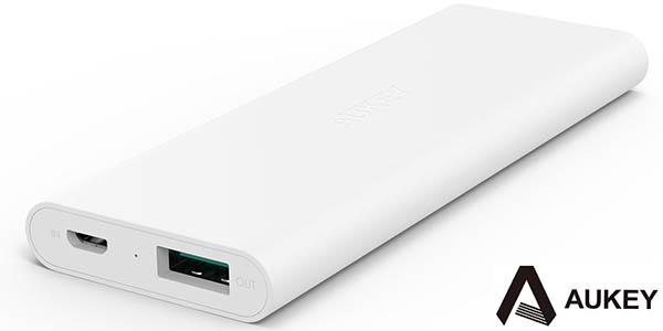 Batería portátil Aukey 3.600 mAh