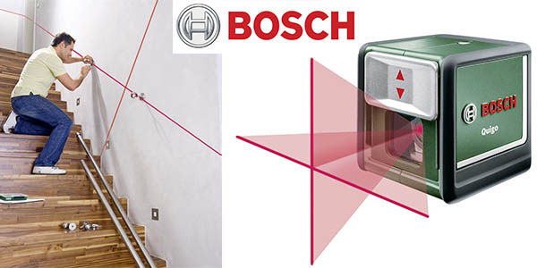 Nivel laser bosch quigo mesa para la cama - Precio nivel laser ...