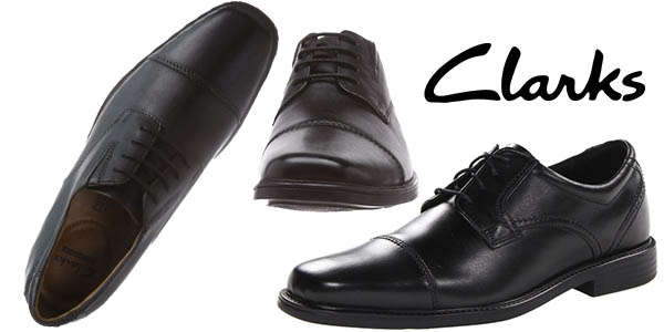 clarks tilden cap zapatos de vestir para hombre con cupon descuento amazon abril 2016