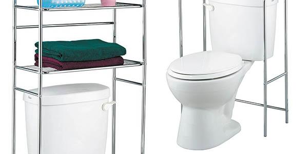 Funcional estantería para cuartos de baño pequeños por ...