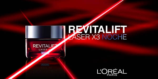 crema de noche facial loreal revitalift laser x3 50ml