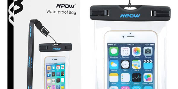 Funda para smartphone sumergible universal IPX8 Mpow