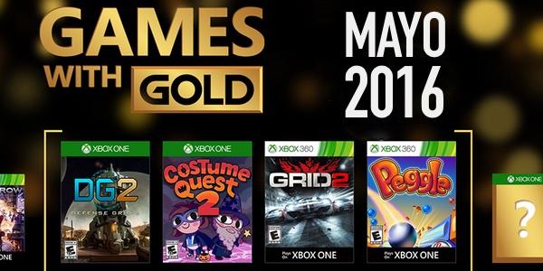 Juegos Gratis Con Gold Mayo 2016 Para Xbox