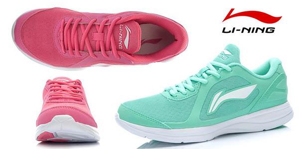 a1cc588c816e9 Chollo zapatillas de running Li-Ning para mujer por sólo 29