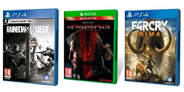 Locuras De Ofertas En Juegos De Ps4 Y Xbox One En Fnac Por Tiempo