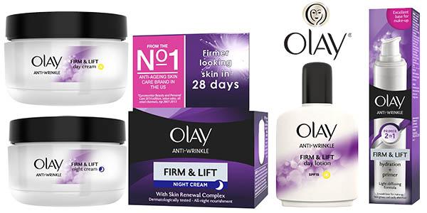 olay tratamiento anti edad serum y cremas