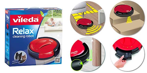 s lo hoy robot aspirador vileda relax cleaning por s lo. Black Bedroom Furniture Sets. Home Design Ideas