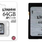 Tarjeta SD Kingston 64GB Clase 10