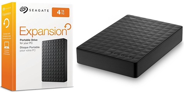 Disco duro Seagate Expansion 4 TB barato