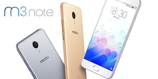 Colores smartphone Meizu M3 Note