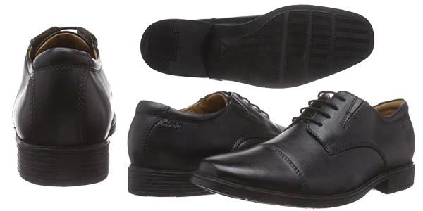 De Hombre Clarks Vestir Para 55 Chollazo Por Zapatos Sólo Cap Tilden nP0Ok8w