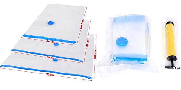 10 bolsas de diferentes tama os para almacenar ropa al for Bolsas para guardar ropa