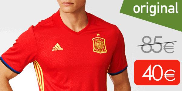 759285e3c3d54 Camiseta España EURO 2016 réplica oficial Adidas al mejor precio
