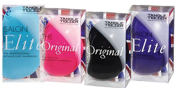 famoso cepillo para todo tipo de pelo tangle teezer salon elite